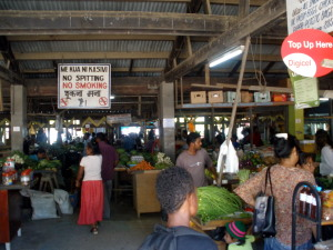 Another great public market in Savusavu