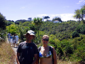 Arek and Tiffany on Tiritirimatangi