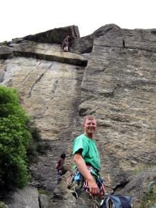 Climbing at Hospital Flats