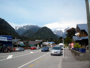 The bustling metropolis of Franz Josef