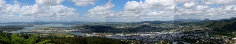 Panorama of Whangarei
