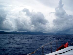 Landfall at American Samoa