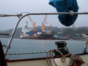 Rainy Day in Refuge Bay