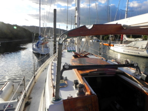 Companionway thumb s/v Bodhran