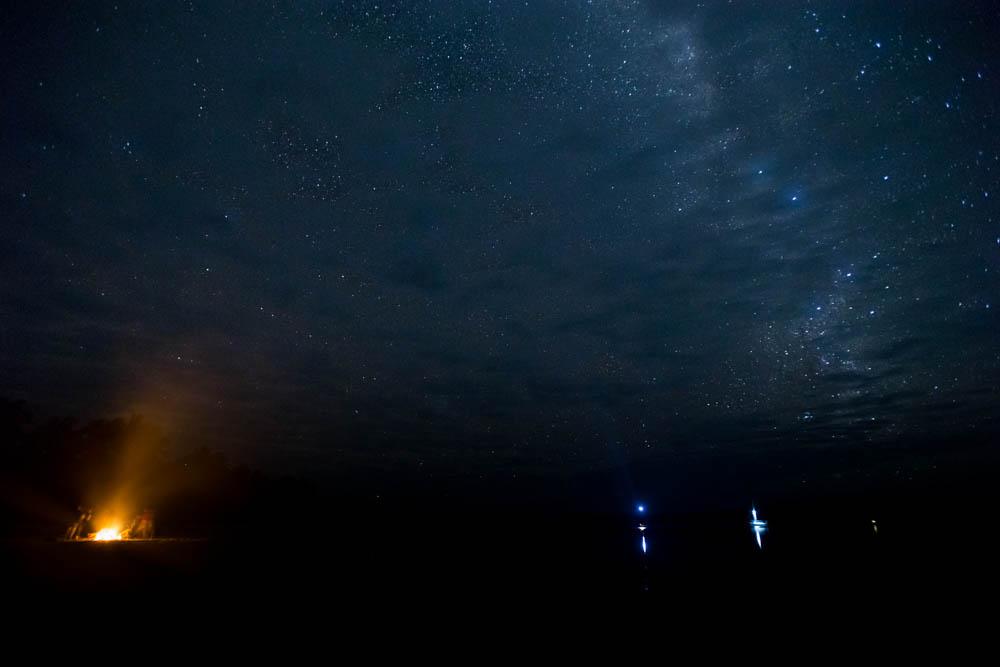 Cloudy stars