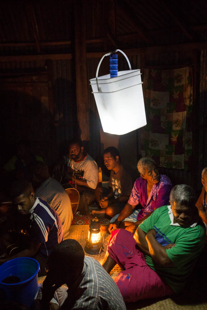 Innovative lighting for a place with no electricity