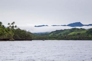 Coming into Naidi Bay